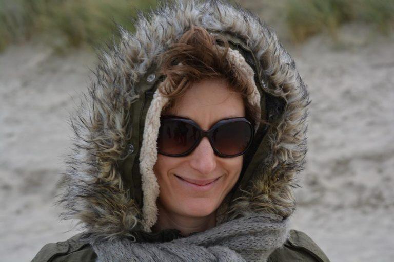 Puchowa kurtka na mroźną zimę