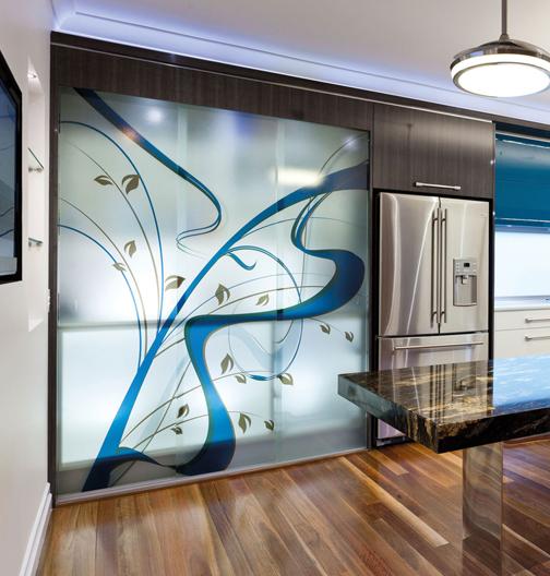Wykorzystanie elementów szklanych w naszych domach